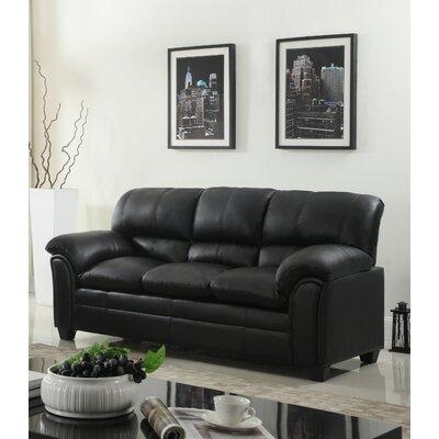 Mikaela Sofa Upholstery: Black