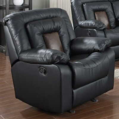 Alice Recliner Upholstery: Black