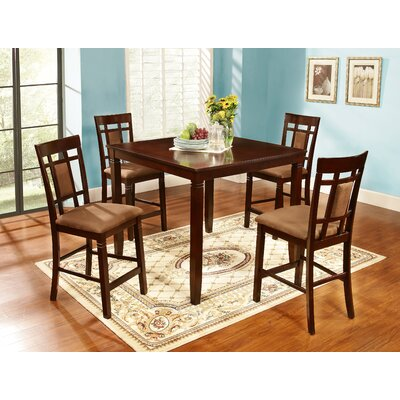Abbeyton 5 Piece Counter Height Dining Set