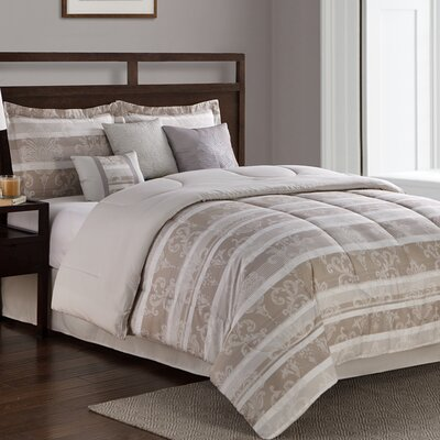 Gavin 7 Piece Comforter Set Size: California King