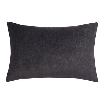 Carrillo Lumbar Pillow Color: Charcoal