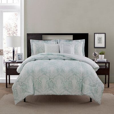 Blasco 5 Piece Comforter Set Size: Queen