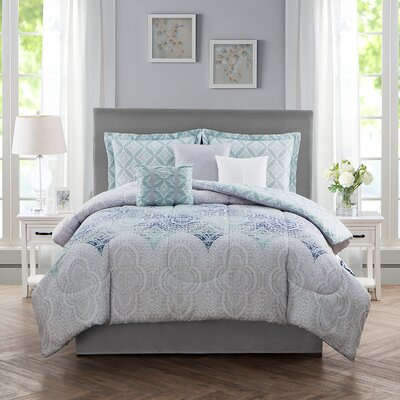 Charlita 7 Piece Comforter Set Size: Queen