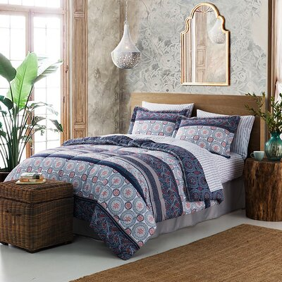Charlot 8 Piece Comforter Set Size: King