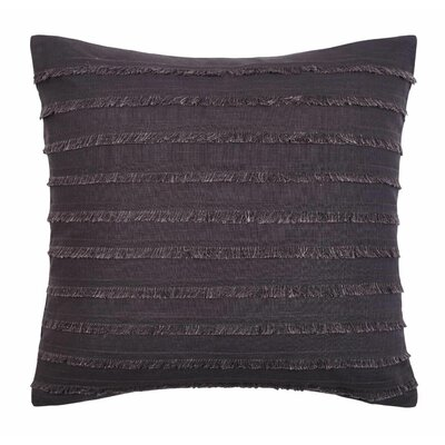Carrillo Decorative Pillow Color: Charcoal