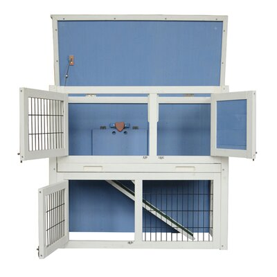 Forsythe Wooden Hutch Small Chicken Coop