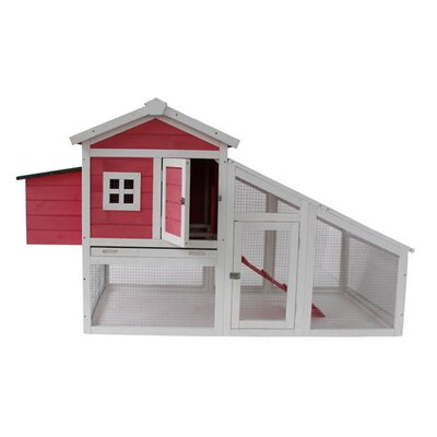 Fiona Deluxe Wooden Backyard Chicken Coop
