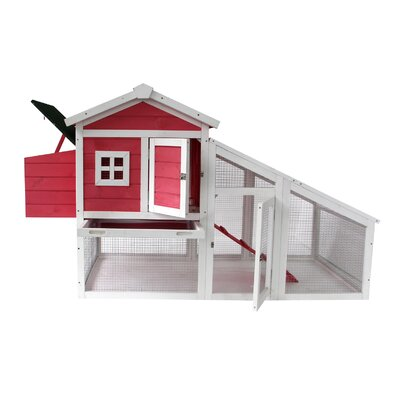Kershner Wooden Hutch Chicken Coop