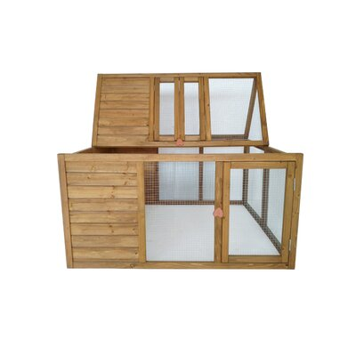Foldable Wooden Animal Hutch