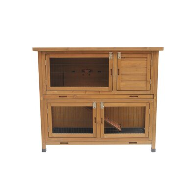 Wood Animal Hutch