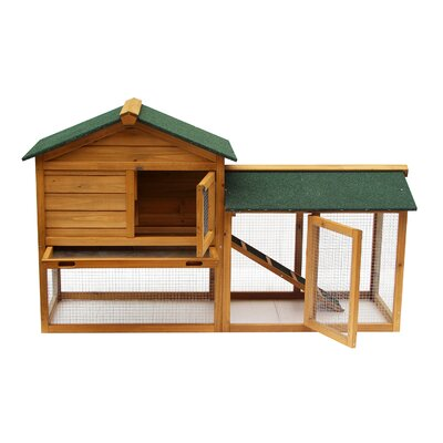 Kelston Wooden Rabbit Hutch