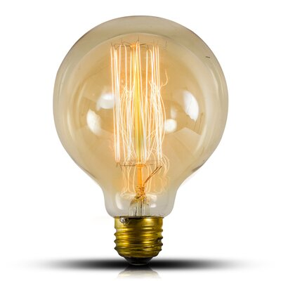 40W E26/Medium (Standard) Incandescent Vintage Filament Light Bulb