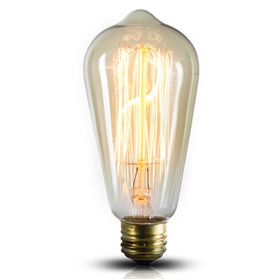40W Incandescent Vintage Filament Light Bulb