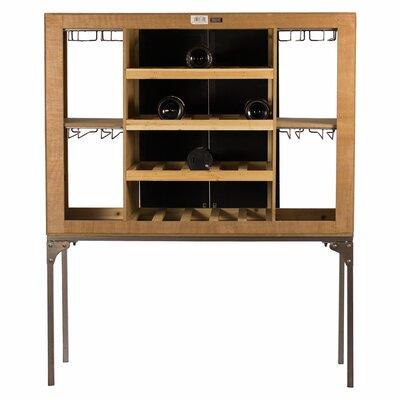 Gal Rustic Floor Wine Cabinet