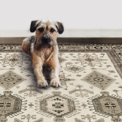Castano Hand Woven Taupe Indoor/Outdoor Area Rug
