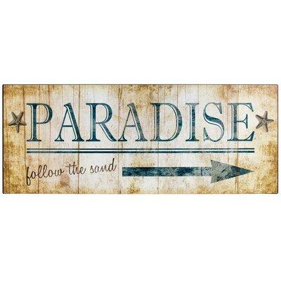 Vintage Paradise Metal Sign