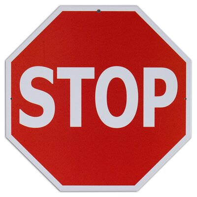 Stop Sign Metal Traffic Sign