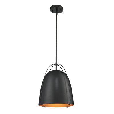 Kaylee 1-Light Mini Pendant Size: Large