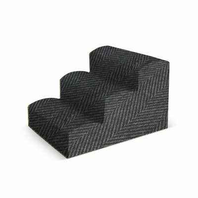 Fabric Stair Color: Charcoal