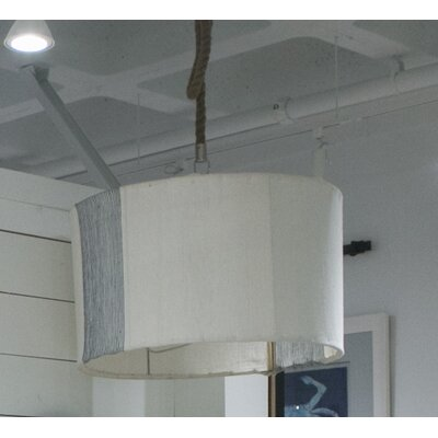 Suffolk 3-Light LED Drum Pendant