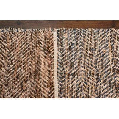 Sebastian Hand-Woven Black/Brown Area Rug
