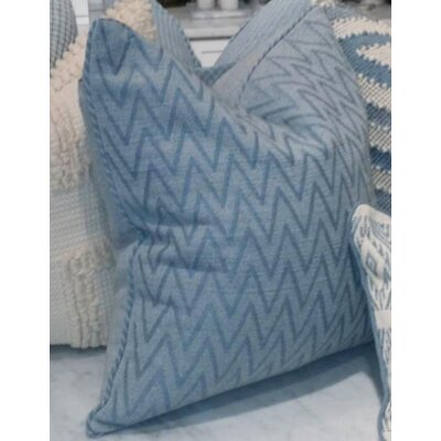 Monterey I Zig Zag Cotton Pillow Cover