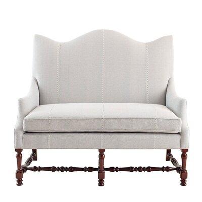 Chelsea Settee Upholstery: Eyelit Denim