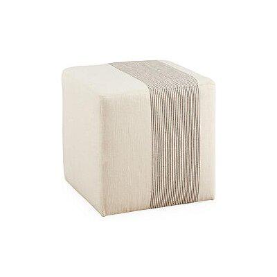 Chelsea Cube Ottoman Upholstery: Gray
