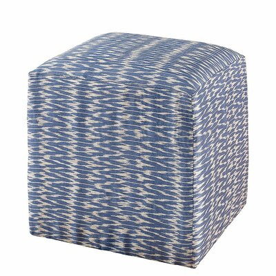Chelsea Cube Ottoman Upholstery: Natural