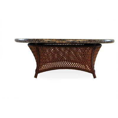 Grand Traverse Chat Table Top Finish: Venetian Gold, Base Finish: Bisque