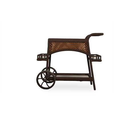 Grand Traverse Bar Serving Cart Finish: Bisque