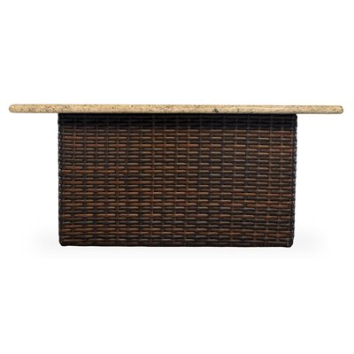 Stylish Fire Wicker Rattan Coffee Table Product Photo