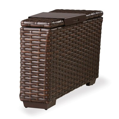 Contempo Side Table with Woven Top