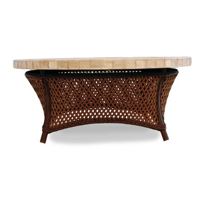 Grand Traverse Chat Table Finish: Caramel
