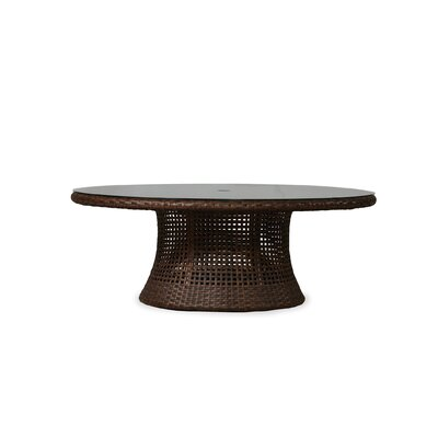 Havana Conversation Umbrella Dining Table Top Color: Light Travertine Stone