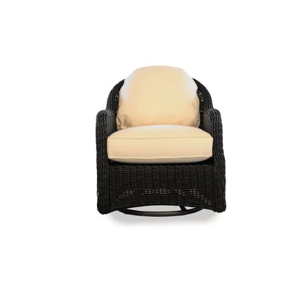 Cottage Swivel Rocker Lounge Chair with Cushion