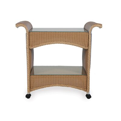 Castered Tea Cart Finish: Ash