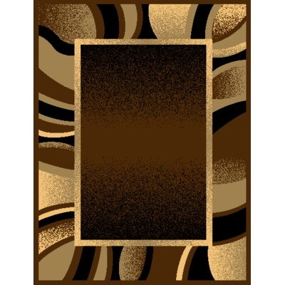 Portrait Brown/Beige Area Rug Rug Size: Rectangle 5 x 7
