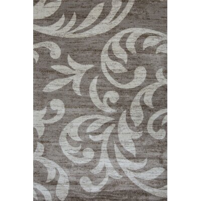 Juliet Taupe/Cream Area Rug Rug Size: 8 x 11