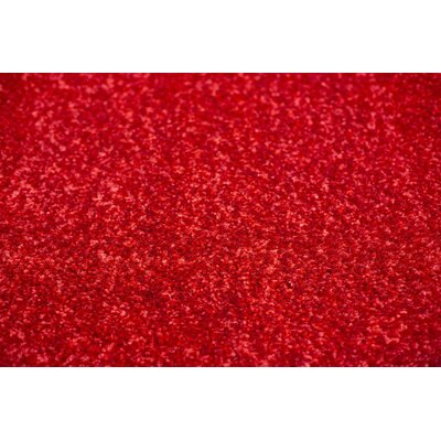 Shaggy Red Area Rug