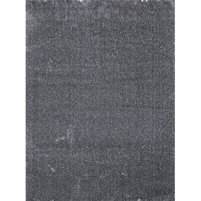 Shaggy Gray Area Rug