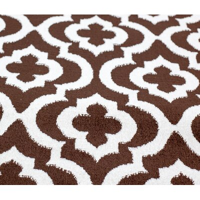 Mirror Rehash Brown Area Rug Rug Size: Rectangle 2 x 3