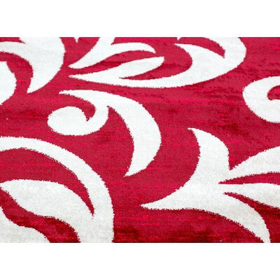 Knoxville Red Area Rug Rug Size: 4 x 5