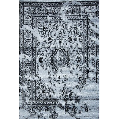 Raynolds Gray Area Rug Rug Size: Runner 3 x 8