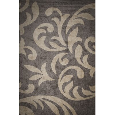 Roni Floral Wave Brown Area Rug