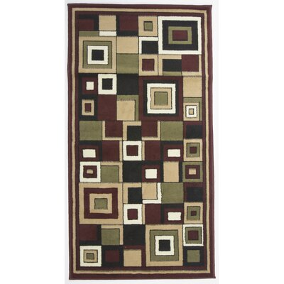 Karyn Red Indoor Area Rug Rug Size: 3 x 5