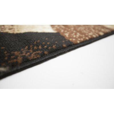 Coleen Black/Beige Indoor Area Rug