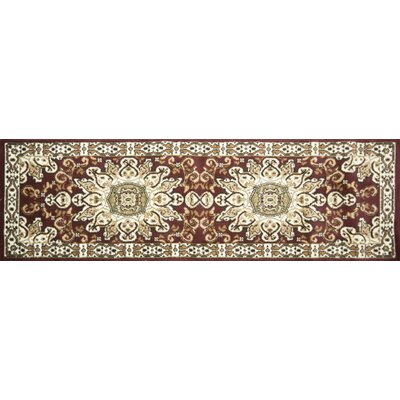 Steuben Runner Red/Brown Indoor Area Rug