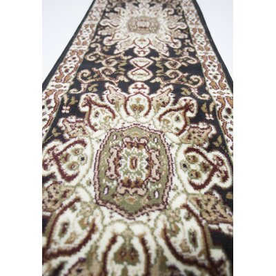 Meredosia Black/Beige Indoor Area Rug