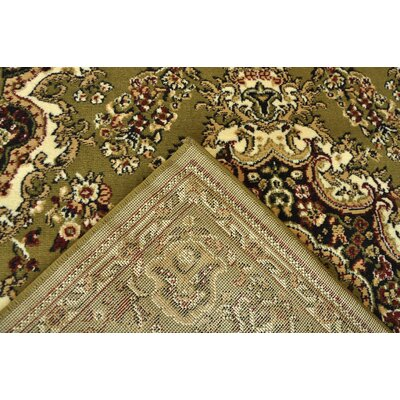 Oriental Classic Green/Beige Area Rug